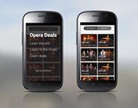 Opera Experience App