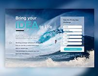 WaveMaker App Challenge Landing Page