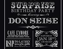 60th Surprise Invite