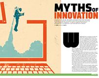 Inc. Magazine -  Myths of Innovation Feature Mockup