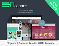Elegance | Onepage Responsive Parallax HTML Template
