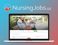 NursingJobs.us / Website Redesign