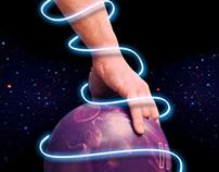 murales Cosmic Bowling