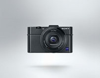 Sony Campaign Product Photography