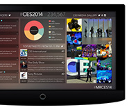 CES 2014 Social Visualization
