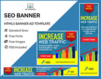 SEO Optimization Banner - HTML5 Ad Templates