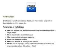 Tutorial HotPotatoes + Dica de Upload