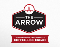 The Arrow | Coffee shop branding