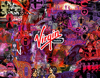 Virgin Mobile Murals