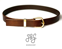 Horse Riding Leather Belt