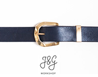 Parisian Night - Leather Belt