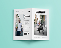 King & Queen SS15 Leaflet