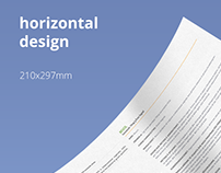 Product Brochure and Prescription Paper Design