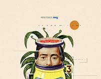 Specimen - (Digital Collage - 2015)