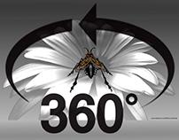 360 degree Mecha Bee video