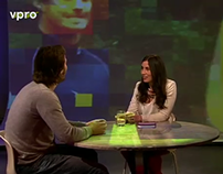 VPRO UploadTV - set projection (2013)