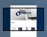 DUENDE Art Gallery - Website