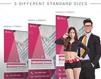 Multi-Purpose Corporate Roll up Banner Design