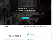 Majhi-creative business template