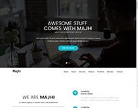 Majhi-creative business template