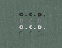 O.C.D. (Occasionally Causing Dissent) Hardcover Book