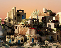 The Alchemist|Set Design. The Oasis-Egypt
