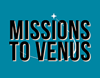 """Infographic """"Missions to Venus"""""""