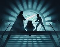Return of the Jedi alternative movie poster