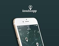 Landscapp UI Concept