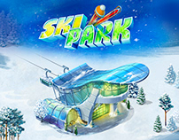 Ski Park - game illustrations