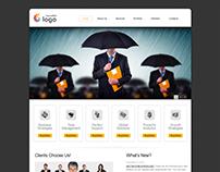 Marketing Website Layout Design