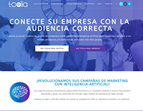 Landing Page y Front End Web App Toolia