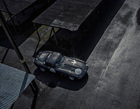 Jaguar Lightweight E-Type - video & stills