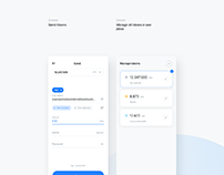 Breew - Crypto blockchain wallet app