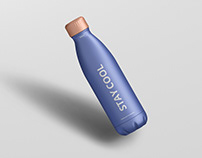 Thermo Bottle Mockup 500ml