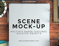 Free Scene Mock-up