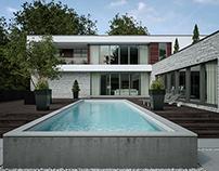''Les Beaux Malaises'' House
