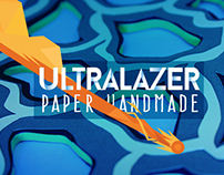 Ultralazer Serie #1 Papercraft Handmade !