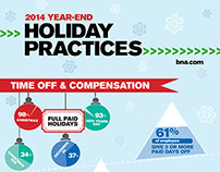 Holiday HR Infographic