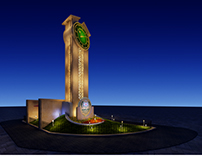Makassed Clock Tower Design