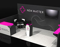 New Matter CES 2015 Booth Design