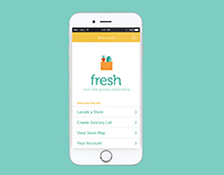 Fresh - Grocery App Design