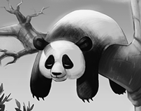 Hang In There, Panda!