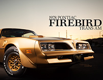 1978 Pontiac Firebird Trans Am Photoshoot