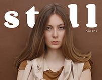 Nina for STELL Magazine by Balint Nemes
