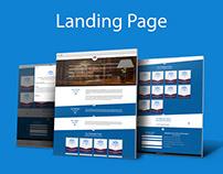 Salah Al Balushi - law firm Landing page
