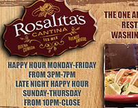 Rosalita's Branding ads