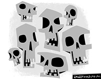 Spooooooooooky Skulls