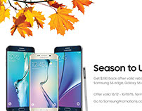 Samsung's Season to Upgrade Event