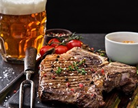 Лендинги для ресторана-пивоварни Braubauer